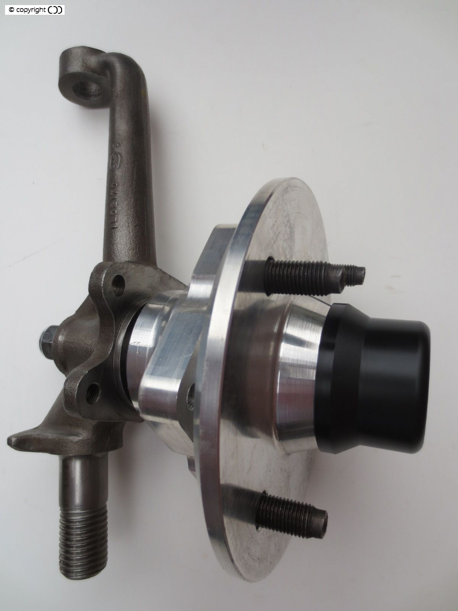 Hub assembly with cap